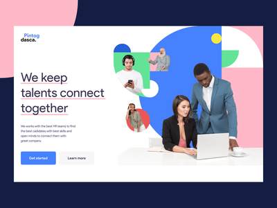 layout inspiration unusual illustration daily inspiration user interface web design daily ui typography banner shape color graphic hero header layout concept minimal creative inspiration