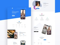 Canopus Application - Landing page