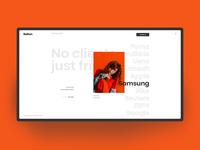 Portfolio - Client page