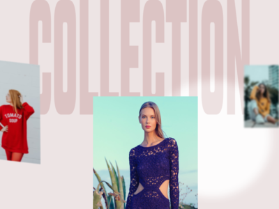 collection ecommerce fashion dailyui strong bold light concept layout grid layout grid creative minimal typography gallery slide collection