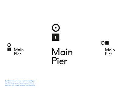 Main Pier / The Pier design system branding identity german