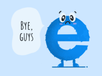 Internet Explorer as we remember it is fading away