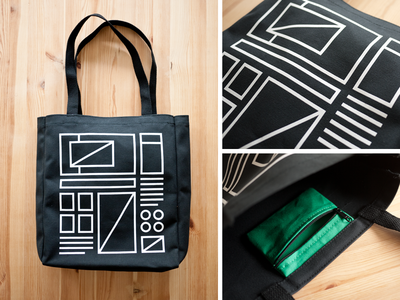 Wireframe Tote