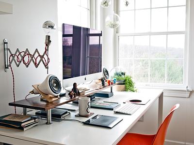 Ugmonk Studio Tour workspace studio office ugmonk desk