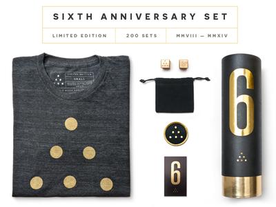 Ugmonk 6th Anniversary Set