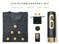 Ugmonk 6th Anniversary Set