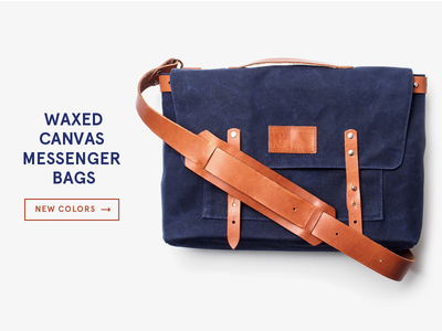 Navy Messenger Bags ugmonk product photography bags leather
