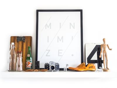 Minimize ugmonk print minimal minimize typography