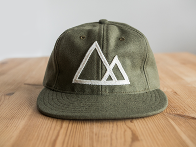 Mountains Cap mountains ugmonk hat minimal product photography