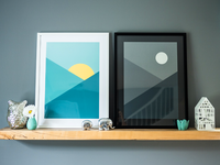 Day & Night Prints