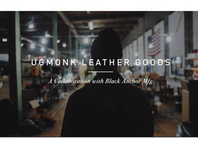 The Craft of Collaboration (video) ugmonk video collaboration leather process maker manufacturer