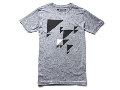 Migration minimal triangles migration t-shirt tshirt clothing apparel tees geometric ugmonk