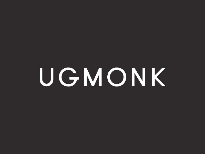 The new Ugmonk! branding minimal typography logo ugmonk