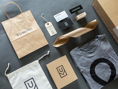 New Packaging Details box cardboard kraft minimal packaging ugmonk