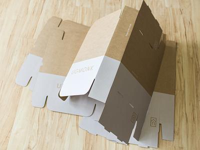 Custom Printed Boxes box cardboard kraft minimal packaging ugmonk