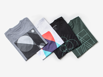 Positive Concepts geometric concepts positive minimal clothing apparel tees ugmonk