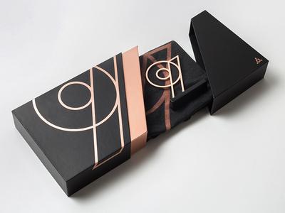 9th Anniversary Packaging ugmonk nine 9th emblem rose gold metal box packaging