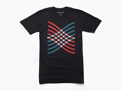 Woven lines minimal clothing apparel tshirt tee tees ugmonk