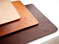 Premium Leather Mousepads