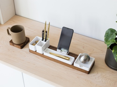 A few of my favorite things minimalism ugmonk gather desk organizer gather office office tools workspace