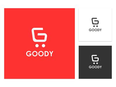Logofolio - Goody Shopping App logo mobile app logo shopping app e-commerce