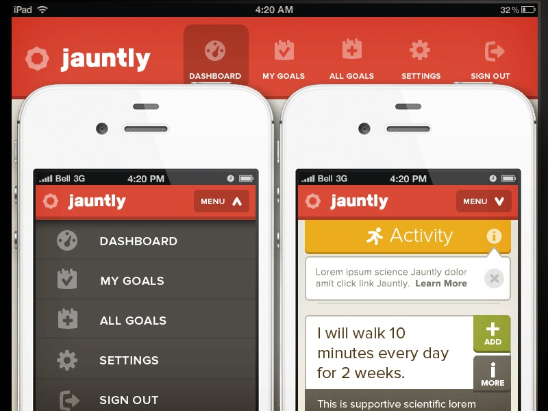 New jauntly nav dribbble x2