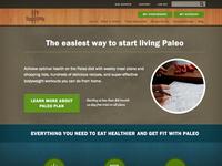 Paleo Plan Landing Page