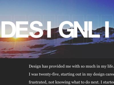 Day Two – Design Life