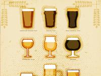 Bier Glasses
