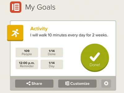 Jauntly - My Goals