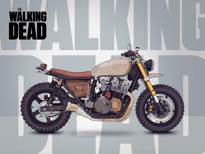 Daryl's Bike 1992 Honda Cb750 Nighthawk