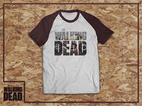 The Walking Dead Daryls Bike Tshirt