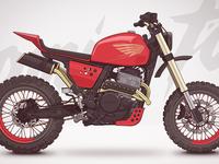Honda nx650 custom