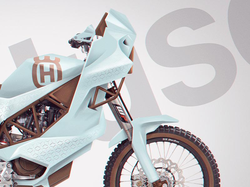Husqvarna 701 Rally concept  digitalpaint photoshop motorcycle concept rally husqvarna701 husqvarna design
