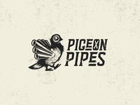 Pigeon Pipes Logo Concept 02