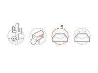 Inbox Zero Icons