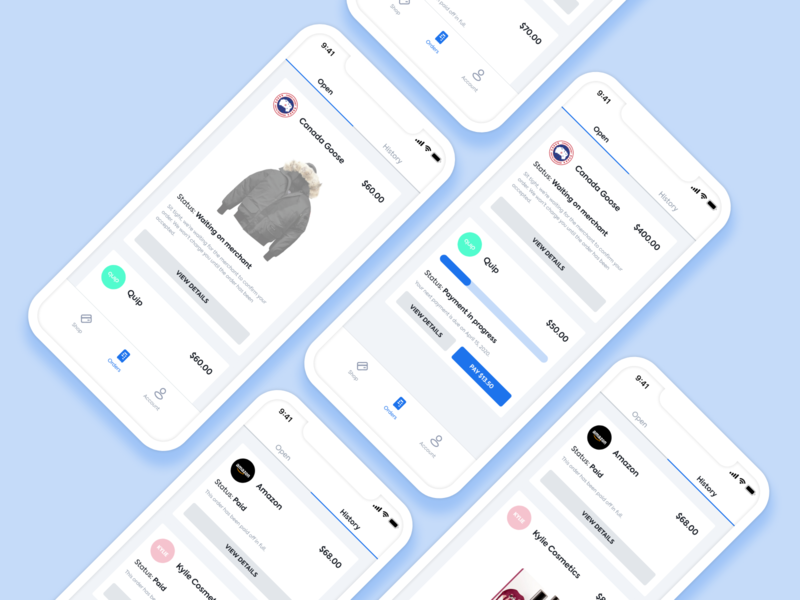 Payment Plan Flow Redesign fintech figma mobile jared christman ui design ios visual design ux design ui