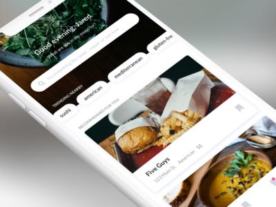 Restaurant Guide App