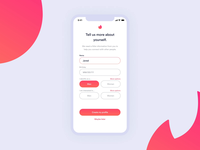 Tinder Onboarding Inclusivity Concept (with Dark Mode)