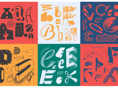36 Days of Type (A-F)