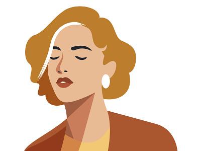 8 Bold Woman Portraits woman portrait girl elegant female character female woman design vector graphic vector retro illustration