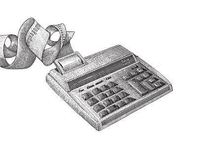 Taxfirm Hedcut Illustration vintage hedcut branding logo design illustration graphic design