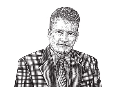 Tax Experts Hedcut Illustration branding portrait illustration vintage website graphic design