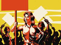 Feminism Protest Activism Illustration