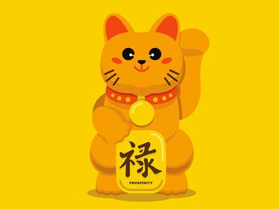 Manekineko Concept Illustration
