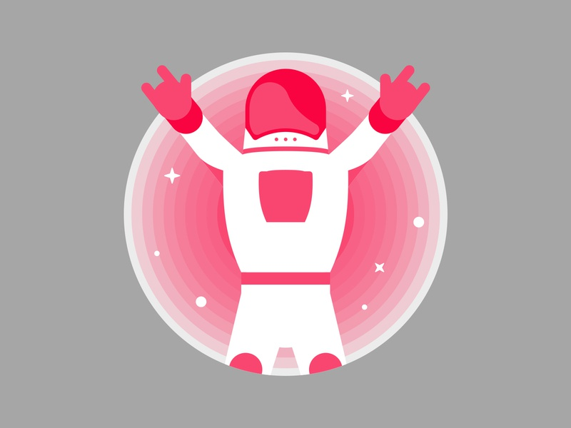 Thefutures Astronaut Character Design astronaut character app icon design ux ui branding graphic vector graphic logo vector