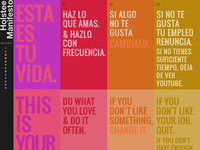 Spanish/English Holstee Manifesto