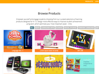 Browse Products Page