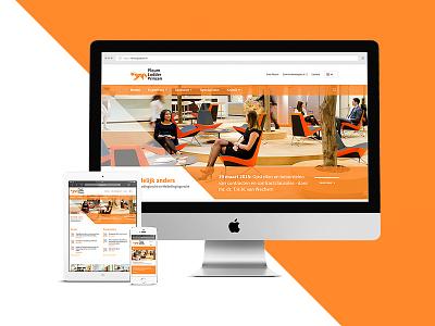 Responsive webdesign law firm orange clean redesign webdesign responsive