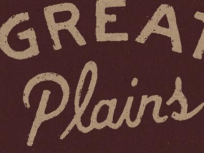 Great Plains Appraisal nebraska lettering design drawing sketch little mountain print shoppe hand drawn type typography joe horacek great plains